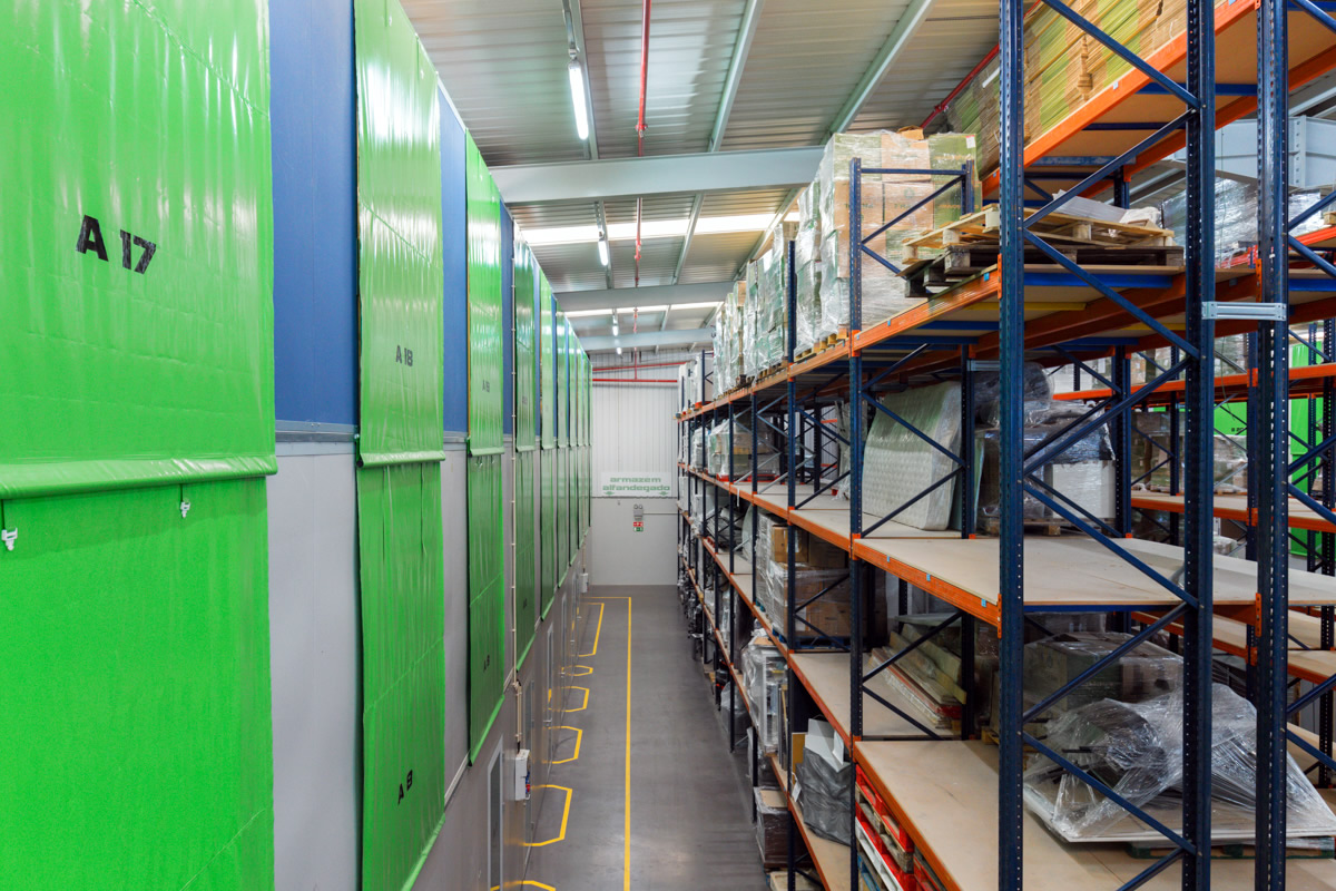 Armazém self-storage